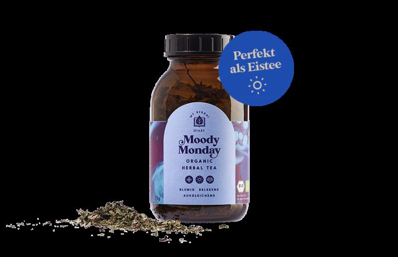 Gute Laune Tee Moody Monday
