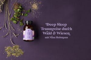 Schlaffördernder Kräutertee und Traumreise von Nina Heitmann